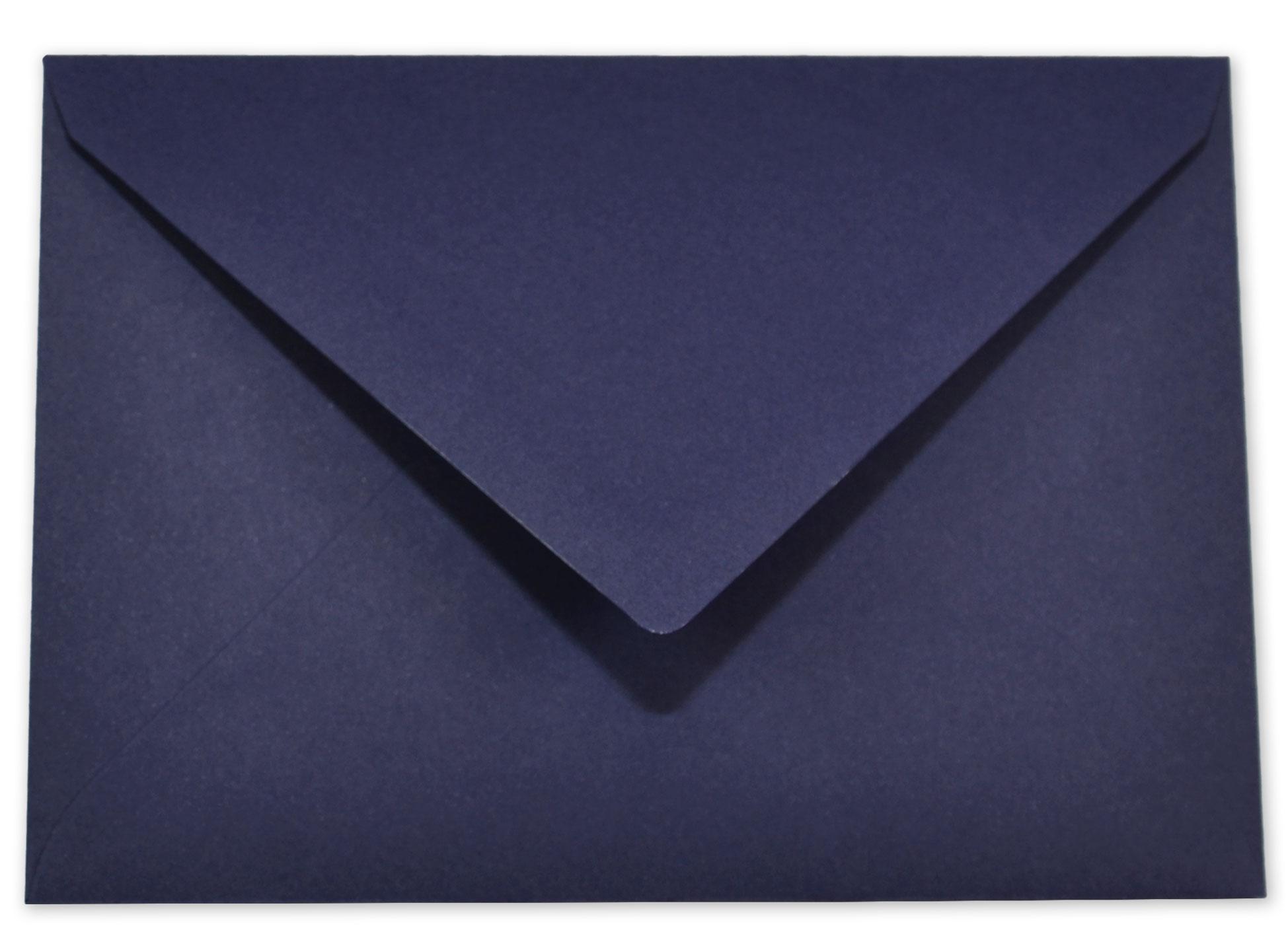 842379793e Briefumschlag - Kuvert in nachtblau C6 120g/m² Nassklebung